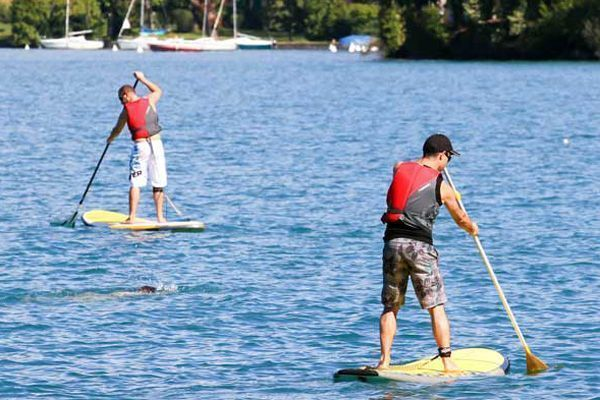 Paddle sup diversion